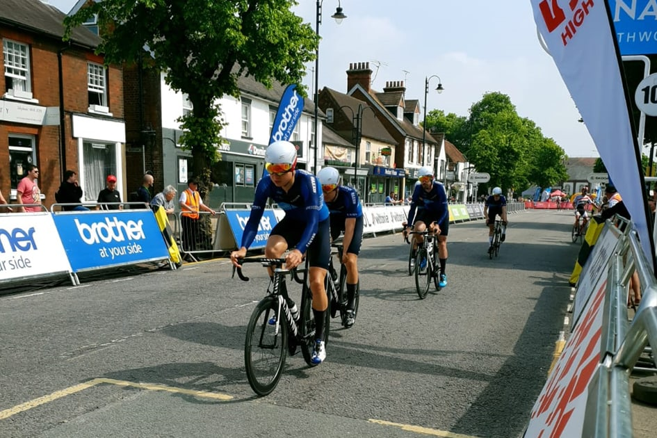 Tour Series. Stevenage. Reccy. Andrew Tennant, Harry Tanfield, Charles Page, Charlie Tanfield, Chris Opie